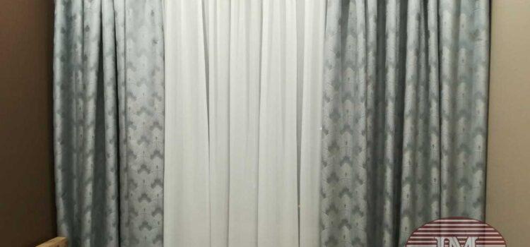 Портьеры для спальни из коллекции Manhattan — Москва, Басманный переулок