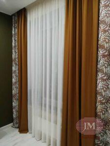 Портьеры для гостиной из коллекции Utopia - Москва, Басманный переулок