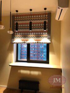 Римская штора из коллекции VENESTO - г.Москва, ул.Циолковского