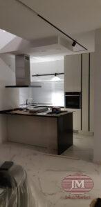 Шторы плиссе для кухни из ткани Прима белый в системе Р1615 — МО, п.Тучково