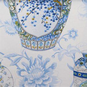 Ткань IMPERIAL GARDEN CHINA BLUE