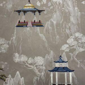 Ткань IMPERIAL PALACE TEA STAIN