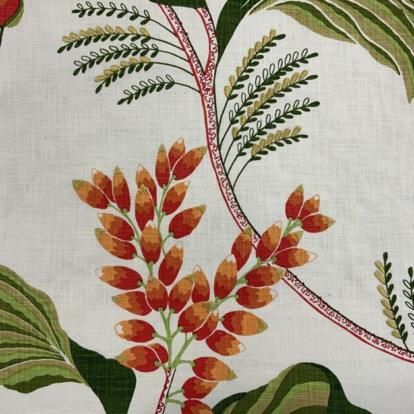 Ткань SYLVIE 340 MANDARIN