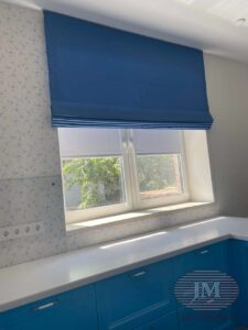 Римские шторы для кухни - Москва