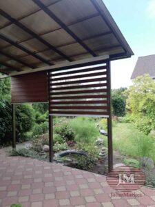 Рулонные шторы Зебра в коробе из ткани Стандарт коричневый - СНТ Ветеран