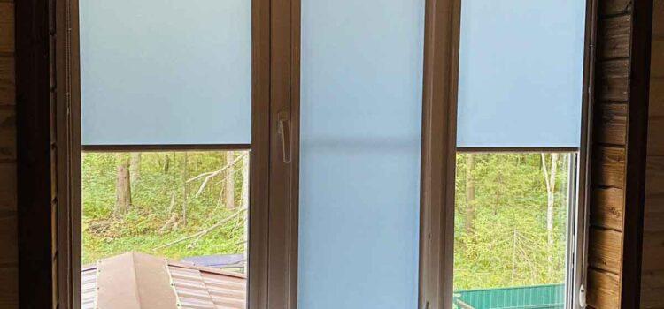 Рулонные шторы в кассетной системе UNI2 из ткани Альфа - Наро-Фоминский район