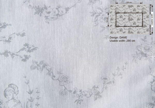 Ткань DAME 001 SOUFFLE